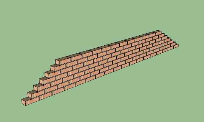 A Half Brick Thick Wall