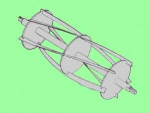 Lawn mower cylinder