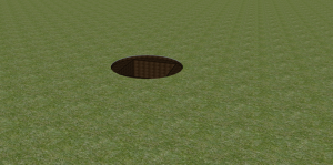 Planting pit