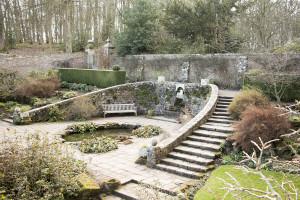 The walled garden at Wallington.